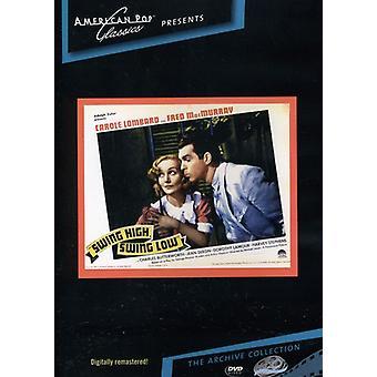 Swing High Swing Low (1937) [DVD] USA import