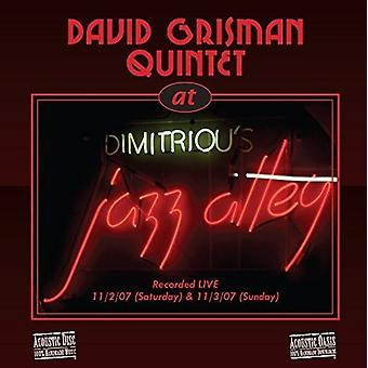 David Grisman Quintet, the - Live at Jazz Alley [CD] USA import