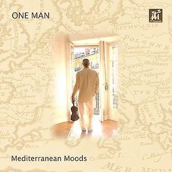 One Man - Mediterraen Moods [CD] USA import