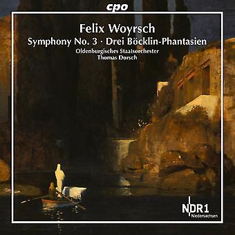 Woyrschcompositeur / Oldenburgisches State Orchestra / Dorsch - Symphonie n ° 3 [CD] USA import