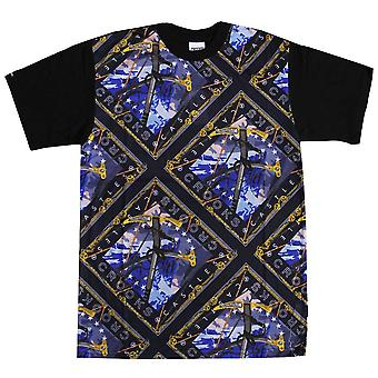 Crooks & Castles Mountaineer T-Shirt Blue