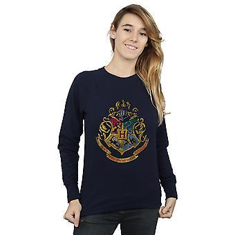 Hogwarts de la mujer de Harry Potter agobiados cresta sudadera