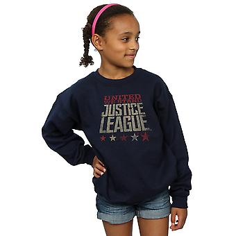DC Comics Girls Justice League Movie United We Stand Sweatshirt