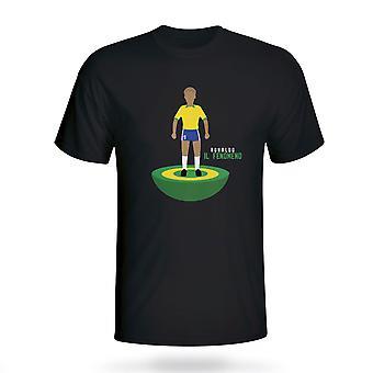 Ronaldo Brasilien Subbuteo Tee (schwarz)