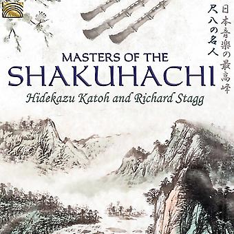 Hidekazu Katoh / Stagg, Richard - Masters Shakuhachi [CD] USA import