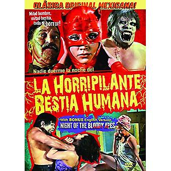 Night of the Bloody Apes (La Horripilante Bestia [DVD] USA import