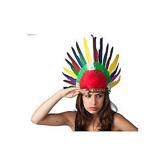 Penacho de plumas de indio niños sombreros