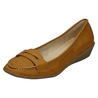 Womens Spot på Moccasin sko