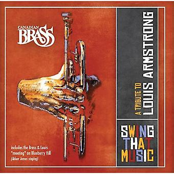 Canadian Brass - Swing That Music-a Tribute to Louis Ar [CD] USA import