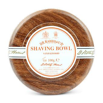 D R Harris Sandalwood Soap & Bowl Mahogany 100g
