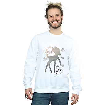 Disney mannen Bambi Winter herten Sweatshirt