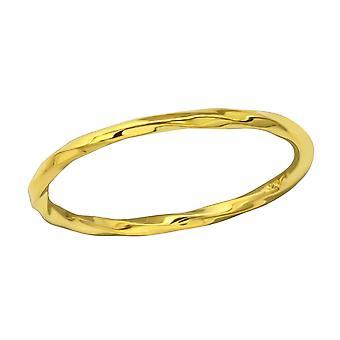 Twisted - 925 Sterling Zilver platte ringen - W35319X