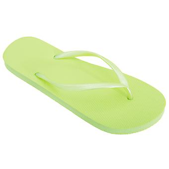 FLOSO Womens/Ladies Textured Toe Post Flip Flops