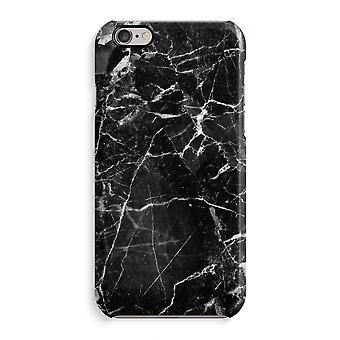Caso iPhone 6 6s caso 3D (brilhante)-mármore preto 2