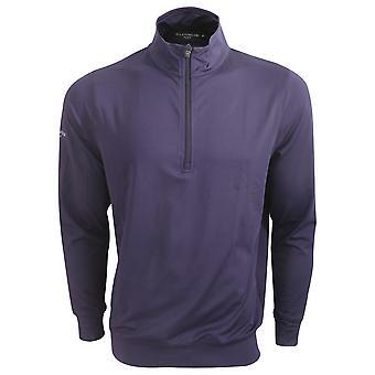 Glenmuir Mens Half Zip Long Sleeve Mid Layer Top