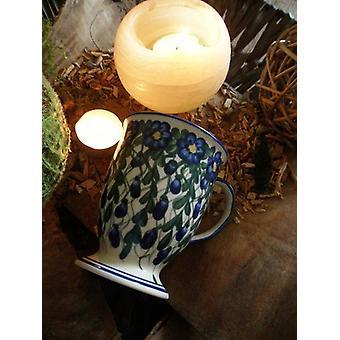 Taça com pé, 250 ml, 44 - polonês de cerâmica - caneca - BSN, 3581