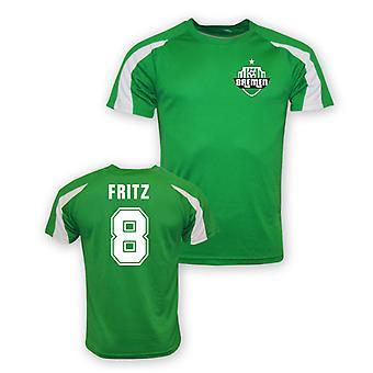 Clemens Fritz Werder Bremen sport opleiding Jersey (groen)