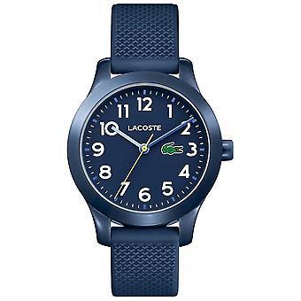 Lacoste 12.12 Kids Navy Blue Rubber Strap 2030002 Watch