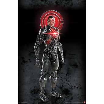 Justice League - Cyborg Poster Print