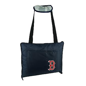 Boston Red Sox Zip Up Travel Throw Blanket Stadium Cushion