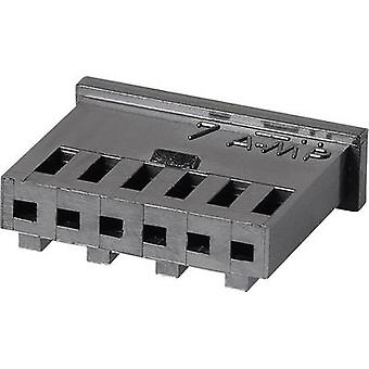 TE Connectivity Socket enclosure - cable AMPMODU MOD II Total number of pins 2 Contact spacing: 2.54 mm 280358 1 pc(s)