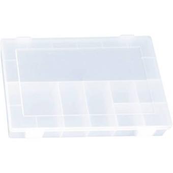 Caja de surtido de H-nersdorff (L x W x H) 335 x 225 x 55 mm No. de compartimentos: 8 compartimentos fijos 1 ud(s)