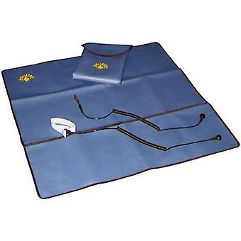 BJZ C-190 100N ESD maintenance kit Blue (L x W) 600 mm x 600 mm incl. PG cable, incl. PG strap, incl. cable