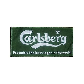 Carlsberg Lager Probably... Cotton Bar Towel