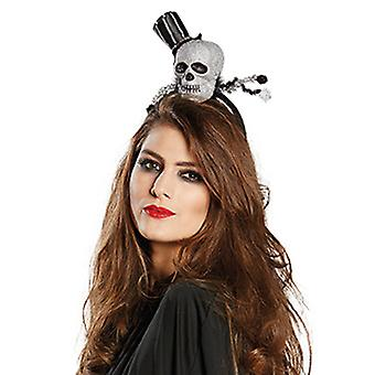 Gek schedel hoofdband