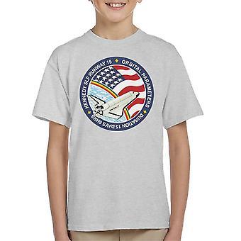 Camiseta de la NASA STS 61B lanzadera de espacio Atlantis misión parche infantil