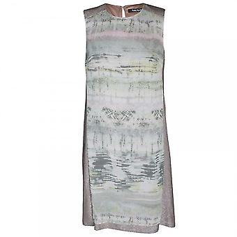 Betty Barclay Chiffon Panal Print Sleeveless Dress