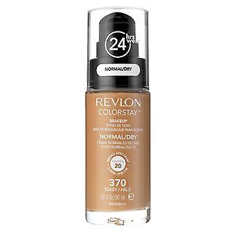 Revlon Colorstay Maquillaje Normal/Piel Seca-370 Tostadas 30ml