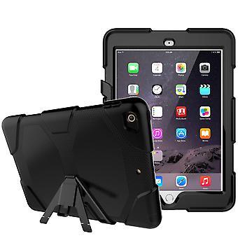 iPad 9,7 (2018)/iPad 9,7 (2017) βαρύ κέλυφος πανοπλίας-μαύρο