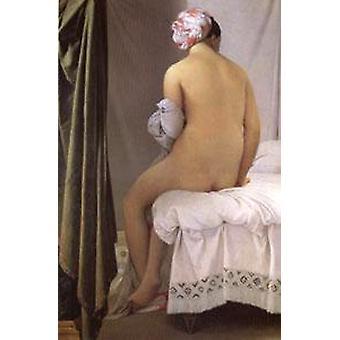 De Bather van Valpincon, Jean Auguste Dominique Ingres, 60x40cm