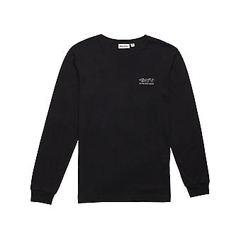 Rhythm Trader Long Sleeve T-Shirt in Black
