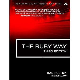 El camino Rubí: Soluciones y técnicas de programación Ruby (Ruby profesional de Addison-Wesley)