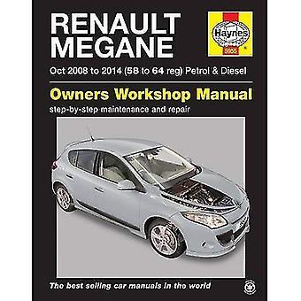 Renault Megane benzine en Diesel eigenaar Werkplaats Handboek (Haynes Service en reparatie handleidingen)