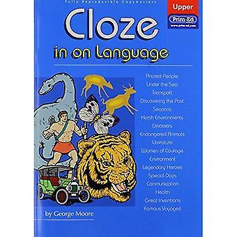 Cloze in op taal: bovenste