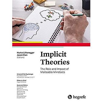 Implicit Theories: The Role� and Impact of Malleable Mindsets: 2017: 225 (Zeitschrift fur Psychologie)