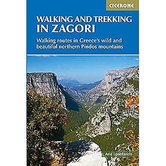 Promenader och vandringar i Zagori: vandringsleder i Greklands vilda och vackra norra Pindos mountains