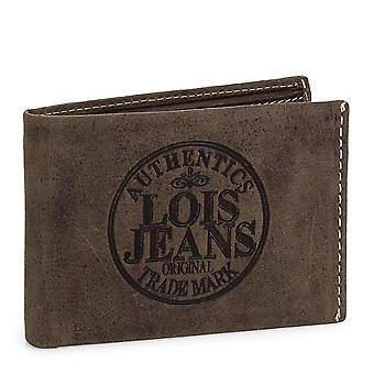 Portefeuille en cuir véritable de mens Lois 12386