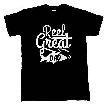 Reel große Papa. Herren lustige T Shirt - Geschenk ihn