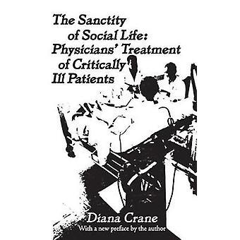 クレーン ・ ダイアナによって批判的に病気の患者の社会生活医師治療の尊厳