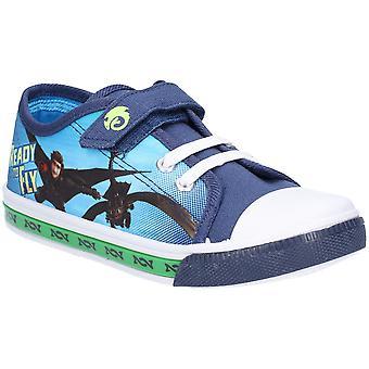 Leomil Jungs wie trainieren Sie Ihre Drachen niedrig Plimsoll Schuhe