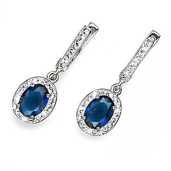 Oliver Weber Post Earring 925Ag pur Rhodium cristal