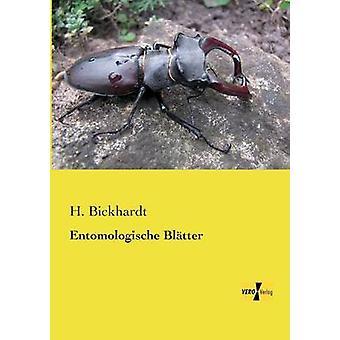 Entomologische Bltter par Bickhardt et H.