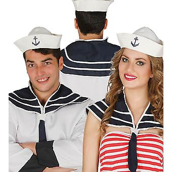 Volwassenen Sailor Set: Hat & scoutingdas Fancy Dress accessoire
