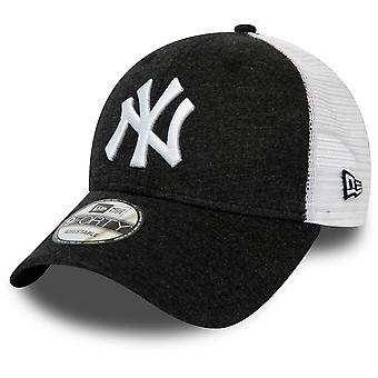 New Era New York Yankees MLB Summer League 9Forty Cap in Black White