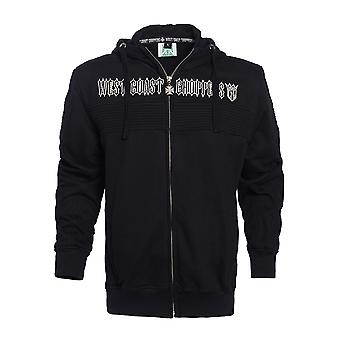 West Coast choppers mens Zip Hoodie CFL