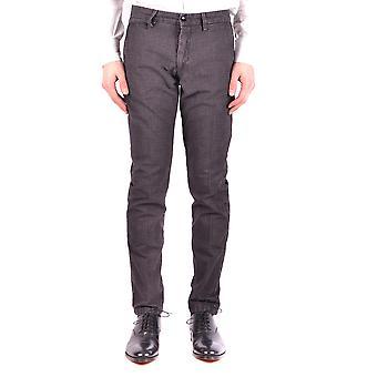 Massimo Rebecchi Ezbc214019 Men's Grey Cotton Pants